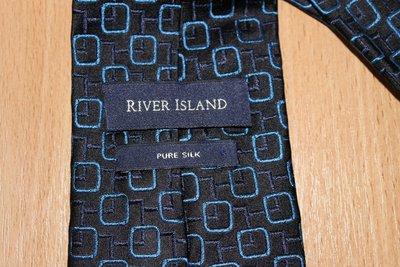 галстук River Island Италия шелк.