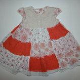 Летнее платье на девочку 9-12 лет
