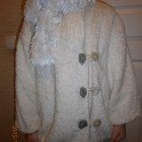 Деми куртка- шубка на 104-116 см.Скидка