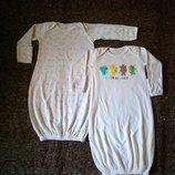 Распродажа Человечек, слип, пижама, спальник 0-6 месяца, рост 56-62 см