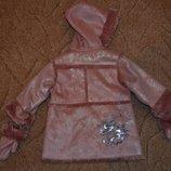 Новое курточка-пальтишко Confetti рост 74