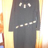 Теплое платье 54 размера