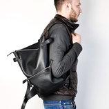 Скидка -15% Женские кожаный городской рюкзак для стильных девушек