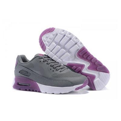 Женские кроссовки Nike Air Max 90 HyperLite - серые