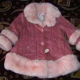 Осенне-Зимняя куртка Лупилу в звездочки 86-92