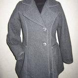 На 5,5-7 лет Шерстяное пальто Calvin Klein Jeans Оригинал девочке