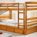Двухъярусная кровать-трансформер Базилио