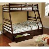 Двухъярусная кровать-трансформер Кайли