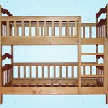 Детская двухъярусная кровать-трансформер «Мишель»
