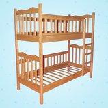Детская двухъярусная кровать-трансформер «Ника»