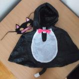 карнавал новый костюм маска 5/9 л кот кошка утренник новый год