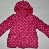 Debenhams JuniorJ Куртка р. 98-104 теплая 3-4 года