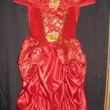 Карнавальное платье принцессы Дисней.