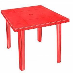 Стол пластиковый квадратный из пластика. Пластиковая мебель для кафе баров и дома.