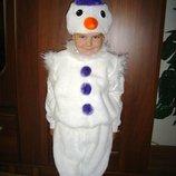 Продам красивый ,яркий костюм снеговик, сніговик