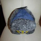 Зимняя шапка-ушанка р.48-52