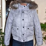 стеганная куртка на синтопоне
