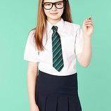 Блузка,рубашка школьная на девочку,128 см, 134см. Англия.
