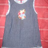 Джинсовое платье Osh Kosh на 2-3г