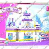 AUSINI 24806 12 Замок принцессы, 614 дет, в кор-ке, 47-6-35см