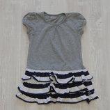 Мега стильное летнее платье Ladybird для девочки, размер 4-5 лет, состояние новой вещи.