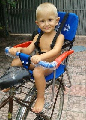 Велокресло-Походный стустульчик, сиденье на велосипед, на багажник