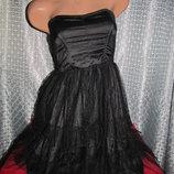 Ажурное вечернее, коктейльное платье H&M р. 38-40 Индия.