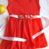 3 года, Нарядное коралловое платье с болеро