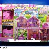 Кукольный дом «Doll house» 480 с мебелью, 100 деталей