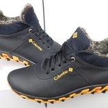 Кроссовки кожаные зимние Columbia