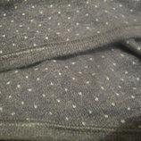 Стильная женская кофта с запахом в горошек.Тянется, стрейчевая. Х/б, трикотаж.46-48. М-L.