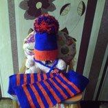 шапка зимняя,деми под заказ и в наличии