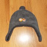 Акция Фирменная зимняя шапка для девочки 3-5 лет, 52 см