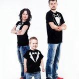 Комплект семейных футболок - Пиджаки