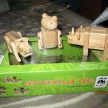 Фирменный 3d деревянный конструктор