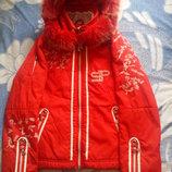 Куртка Sportalm размер L ярко красная