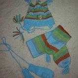 Комплект шапочка, шарфик, рукавички CoolClub