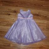 Нарядное платье Некст на 2 года