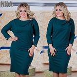 Добротные платья Турция 50-56 р-р