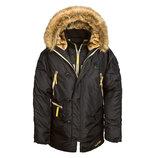 Зимняя мужская куртка N-3B inclement Alpha industries USA Аляска Альфа Индастриз Инклемент