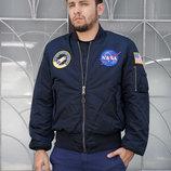 Мужская лётная куртка NASA MA-1 Alpha Industries USA