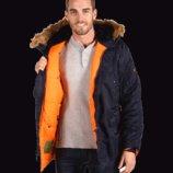 Зимняя мужская куртка аляска Slim fit N-3B Alpha industries USA альфа индастриз