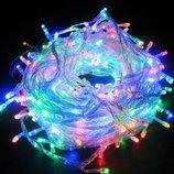 Светодиодная гирлянда 100 LED 6,5 метров