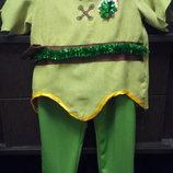 Карнавальный костюм Питер Пен 5-7 лет Дисней.Оригинал