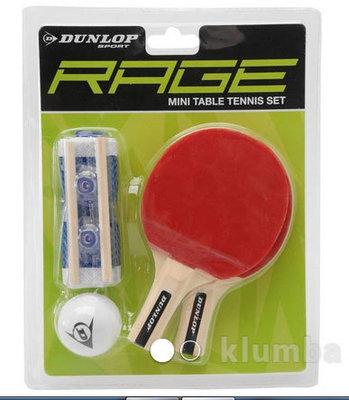 Набор для мини настольного тенниса Dunlop