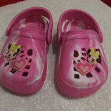 Кроксы Disney на малышку размер 22 5