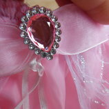 карнавал новый костюм принцесса рапунцель Disney Дисней принцесса утренник золушка розовый юбка