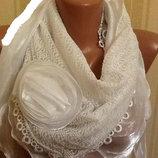 Красивейший Стильный платок с розой