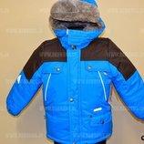 Куртки зимние термо Lenne модель Cliff р. 98, 104 в наличии
