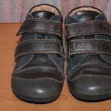 Кожаные туфли на мальчика р.23